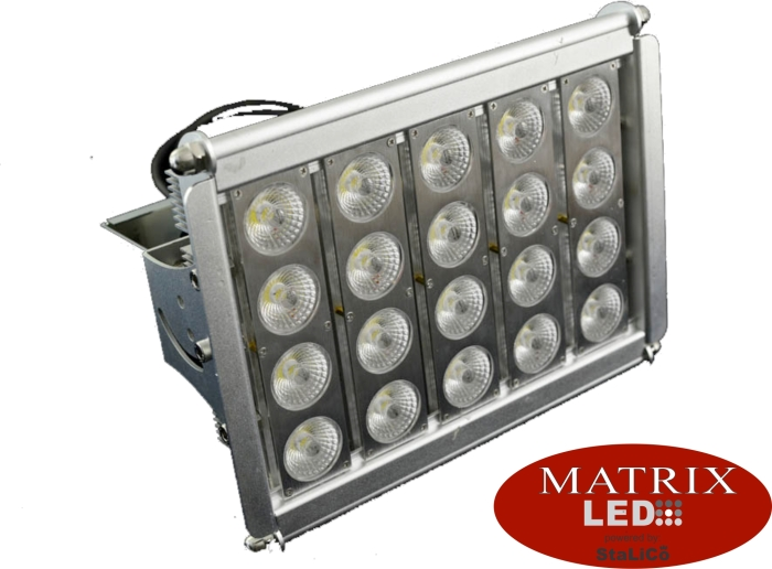 Matrix LED Green Epistar 80W